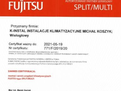 Fujitsu klima therm